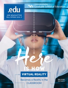 Cover image of Fall/Spring 2016-2017 issue of .edu magazine.