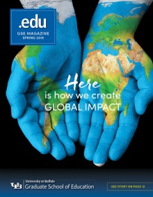 Spring 2019 .edu Magazine Cover image.