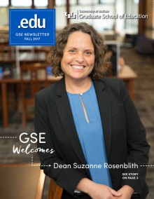 Cover image of the Fall 2017 issue of .edu magaizine.