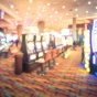 Abstract image of casino floor with slot machines.