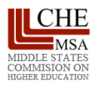 Middle states logo.