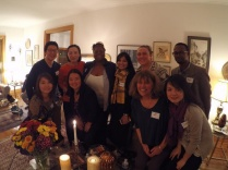 Our annual ECPS community party at Dr. Lois Weis' house.