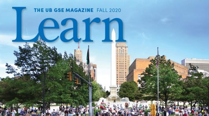Cover of Learn Magazine.